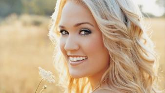 Blondes women carrie underwood singers wallpaper