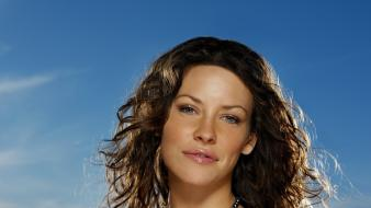 Brunettes evangeline lilly wallpaper