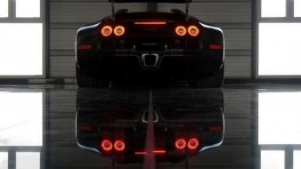 Bugatti veyron garages carbon wallpaper