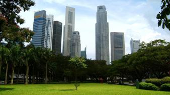Buildings singapore parks Wallpaper