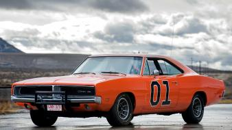Cars dodge charger dukes of hazzard general lee wallpaper