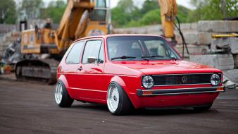 Cars golf german mk1 style wallpaper