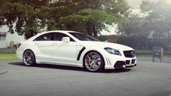 Cars mercedes benz cls63 amg mercedes-benz exotic wallpaper