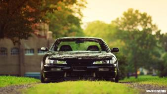Cars nissan 240sx black stance kouki wallpaper
