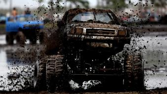 Cars trucks pick-up mud monster truck toyota hilux wallpaper