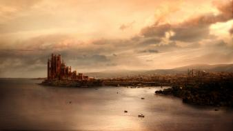 Castles fantasy art game of thrones wallpaper