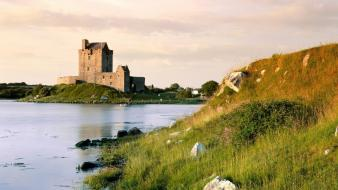 Castles ireland castle galway kinvara dunguaire wallpaper