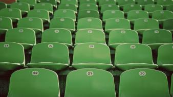 Chairs stadium seats wallpaper