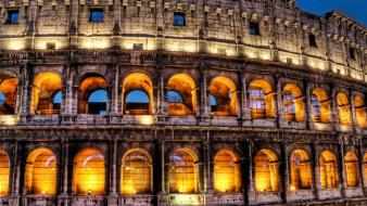 Cityscapes architecture rome colosseum cities wallpaper