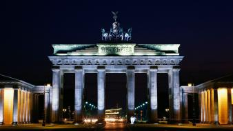 Cityscapes berlin cities brandenburg gate wallpaper