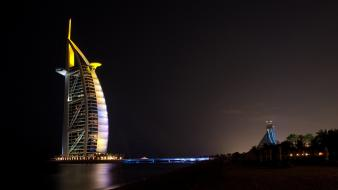 Cityscapes dubai burj al arab Wallpaper