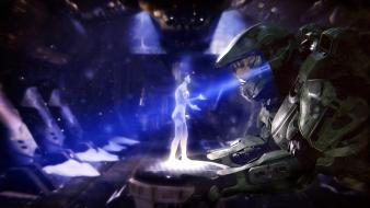 Cortana master chief halo 4 Wallpaper
