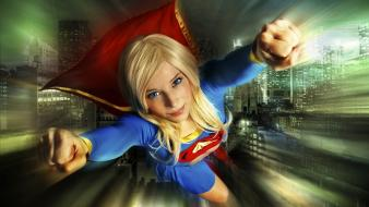 Cosplay supergirl enjinight enji night wallpaper