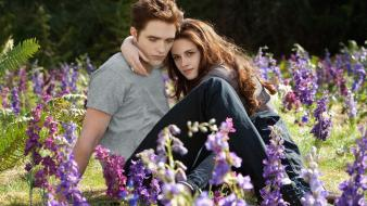 Couple robert pattinson edward cullen bella swan wallpaper