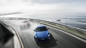 Driving drifting brz Wallpaper