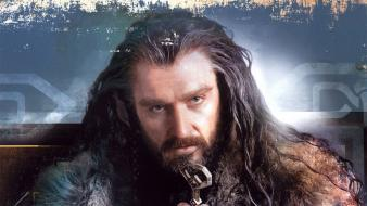 Dwarfs the hobbit artwork thorin oakenshield richard armitage wallpaper