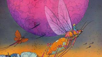 Fiction artwork traditional art moebius french artist Wallpaper