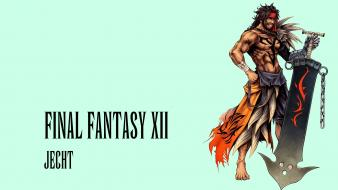 Final fantasy dissidia x jecht wallpaper
