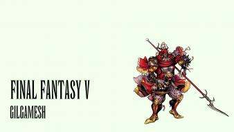 Final fantasy gilgamesh dissidia v wallpaper