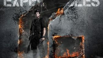 Fire actors sylvester stallone the expendables 2 wallpaper