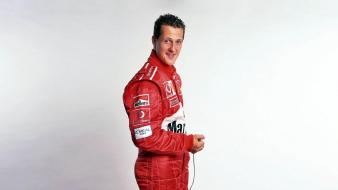 Formula one smiling marlboro michael schumacher driver Wallpaper
