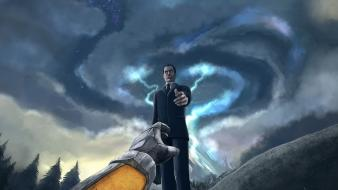 Half-life gordon freeman digital art g-man 2 3d wallpaper