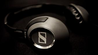 Headphones music sound sennheiser wallpaper