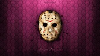 Horror jason friday the 13th hockey mask wallpaper