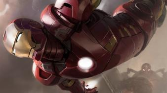 Iron man concept art artwork marvel comics wallpaper