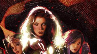 Jean grey rogue marvel comics adam hughes wallpaper