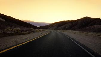 Landscapes usa california roads death valley wallpaper