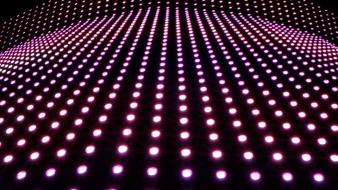 Light dots wallpaper