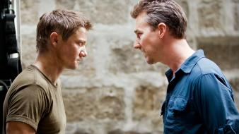 Men edward norton jeremy renner the bourne legacy wallpaper