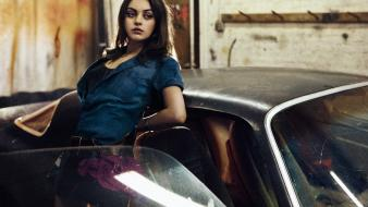 Mila kunis actress celebrity august magazine interview wallpaper