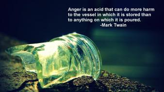 Quotes mark twain anger wallpaper