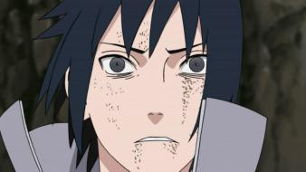 Uchiha sasuke naruto: shippuden screenshots shocked blind Wallpaper