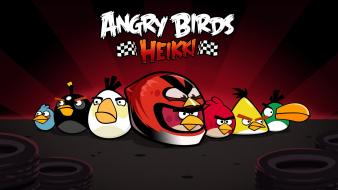 Video games angry birds Wallpaper