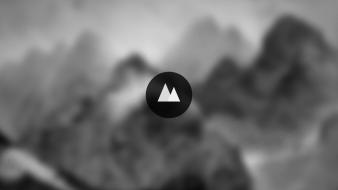 Abstract mountains wallpaper