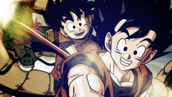 Anime boys z sangoku gt father sangohan wallpaper