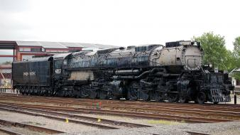 Big boy union pacific widescreen 4-8-8-4 mallet wallpaper