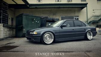 Bmw slammed stance works e38 stancenation wallpaper