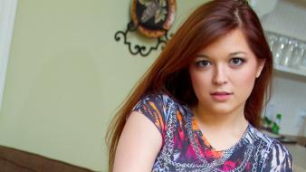 Brown eyes huge cosmid teenage tessa fowler Wallpaper