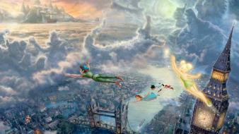 Cartoons movies artwork peter pan disney wallpaper