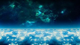 Clouds nature Wallpaper