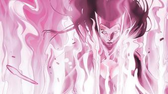 Comics marvel scarlet witch avengers wallpaper
