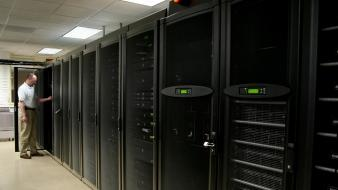 Computers server data center wallpaper