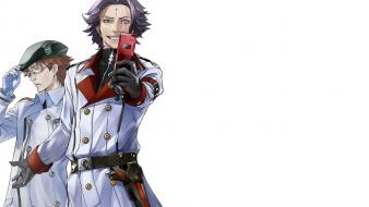 Crown white holster rowan makoto waltz segai wallpaper