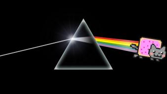 Dark side of the moon nyan cat wallpaper