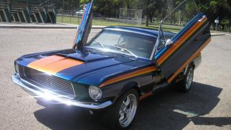 Ford mustang convertible 1967 hardtop wallpaper
