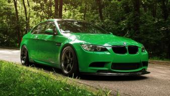 Green nature bmw wallpaper